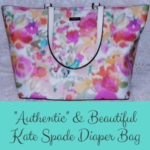 """Authentic Kate Spade Diaper Bag"""